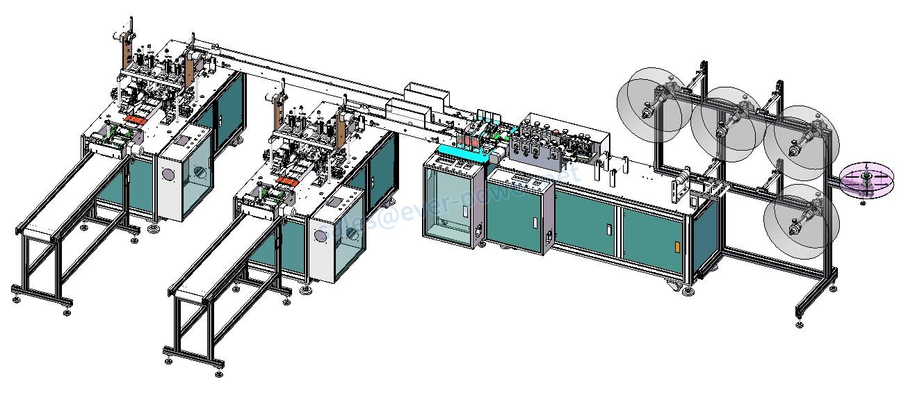 mask machine line