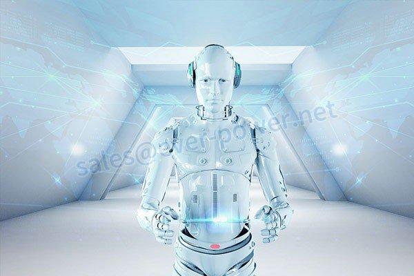 Ang paggalaw ng alon ng galaw - Humanoid Robot